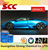 Good flow metallic blue car painting