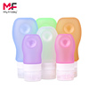 Promotional BPA free silicone travel containers set and silicone bottle travel accessories