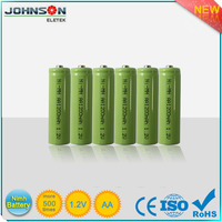 Rechargeable 1.5v Made in guangzhou nimh disposable battery