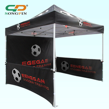 Gazebo Party Canopy 10x10 Ft Pop Up Trade Show Advertising Customize Outdoor Folding Tent