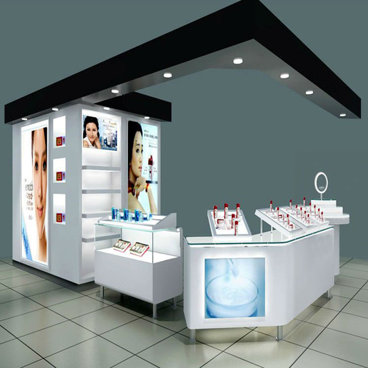manufacturer customized supermarket cosmetic display unit