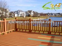 ECO decking weather- proof, with high density wpc decking floor
