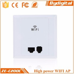 Zhier Original MT7620A 300Mbs POE 24V wireless access point with 64M memory 4M Flash in wall