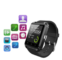 2016 New Bluetooth Smartwatches U8 Smart watch for IOS and Andriod Mobile Phone with bluetooth Wristwatch