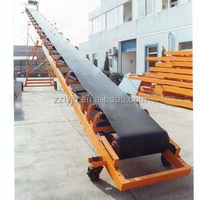 Flat Rubber Belt Conveyor Machine Widely