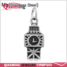 Never Fade Stainless Steel Lobster Clasp Travel Charms Word Famous Building Big Ben Eiffel Tower
