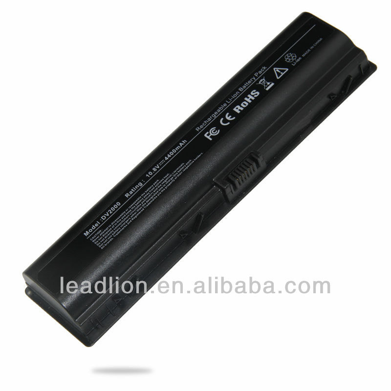 Replacement laptop battery for Dell COMPAQ DV2000 notebook
