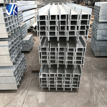Galvanized perforated h beam galvanized steel structures