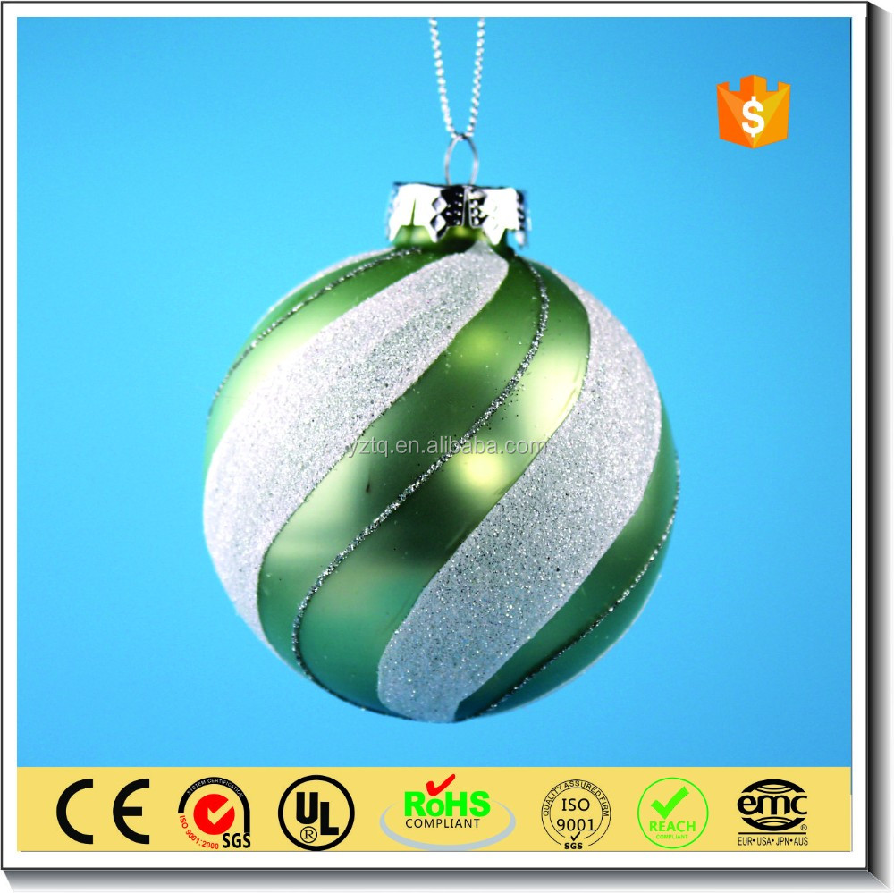 wholesale christmas tree ornaments glass ball Christmas decoration