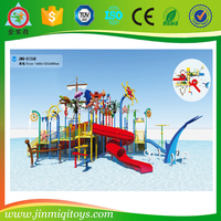 Selling big large children water amusement park cheap classic water slides amusement park water play games