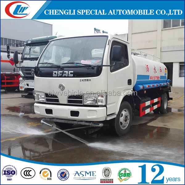 Dongfeng brand 10 Cubic Meter water tanker Water Sprinkling truck 10000L