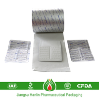 child resistant packaging paper backed aluminum foil