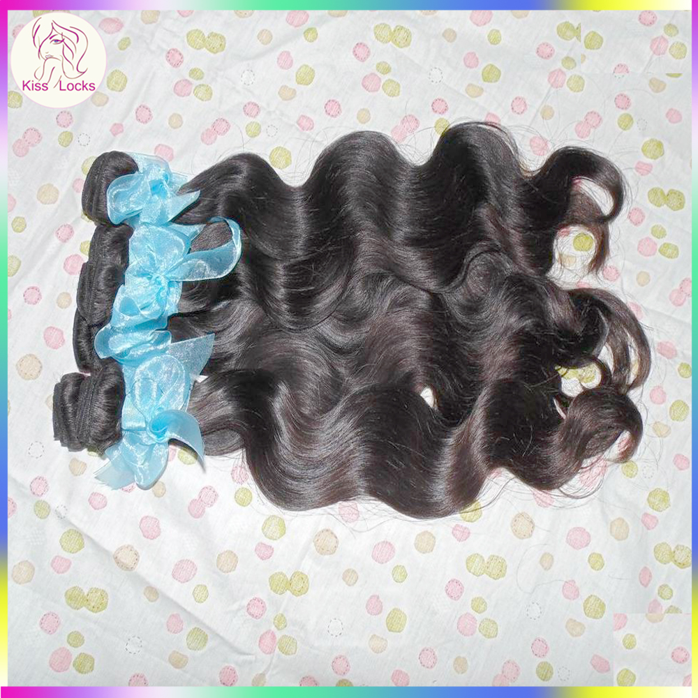 KissLocks Raw Hair Company 10A Virgin Unprocessed Russian Weave Body Wave Wholesale Bundles classy signature