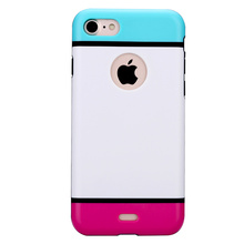 Armor Case for iPhone 6 7 8 Plus Hard PC + Soft TPU Dual Layers Protection Armor Case for iPhone