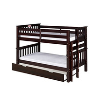 Heavy Duty Wodoen Frame Pull Out Beds Triple Bunk Bed Sale