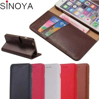 Leather Wallet Phone Case For Iphone