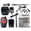 New red BaoFeng BF-530I 5W VHF+UHF 136-174 400-520MHz FM Radio Dual Band Dual Frequency VOX transceiver