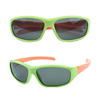 new products silica gel material uv400 polarized outdoor sport goggles aviator children sunglasses KC104 in stock