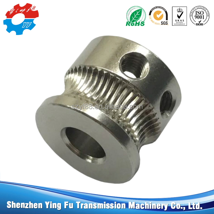 Customized stainless steel 3D printer drive gear at reasonable prices