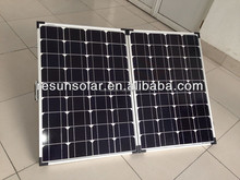 100w portable solar panel folding solar panel for DC 12V solar energy system