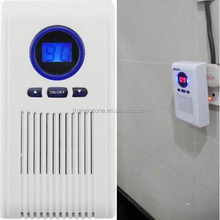 Bathroom, toilet, washroom ozone air cleaner for odor removal