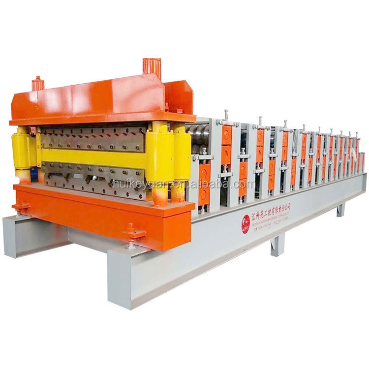 Cheap price Metal Sheet Rolling Machine ,color coating steel double plate production line