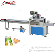 Automatic Candy Sandwich Cheese Chocolate Bread Biscuit Toothpick Packaging Fruit Vegetable Horizontal Agarbatti Packing Machine