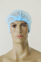 Export high quality disposable non-woven surgical caps for long hair