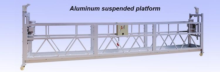 Electric Motor Zlp630 Aluminum Scaffolding Platform Swing