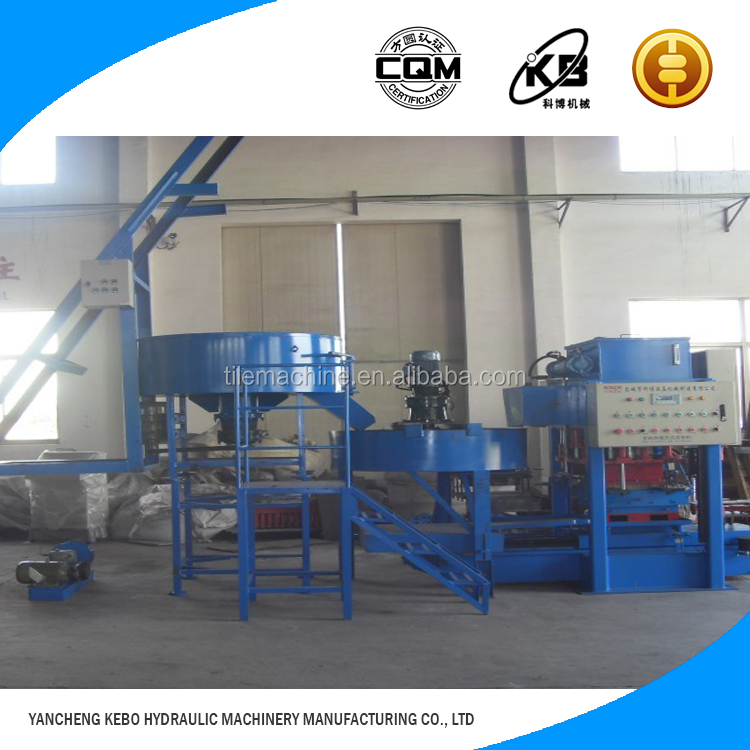 Marketing plan new product pc roof tile making machine KB125C