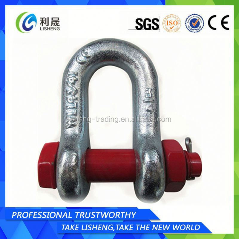Dee Galvanized Clevis G2150 Shackle