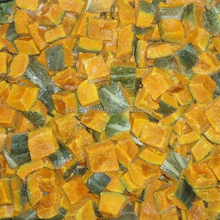 China supply fresh frozen diced pumpkin for sale