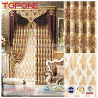 New style european design elegant polyester window arabic curtains for home
