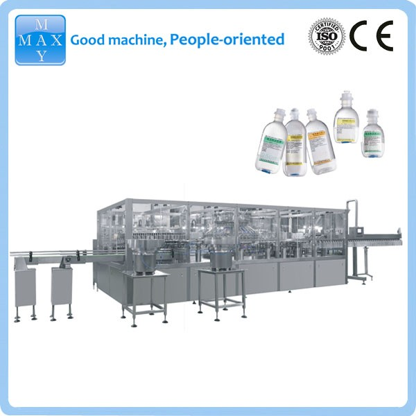 500ml large volume normal saline I.V. solution production line