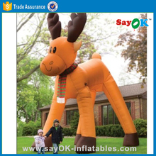 large inflatable christmas decorations cheap christmas inflatables inflatable deer
