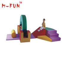 Soft Play Area Colorful Kids Soft Play Equipment