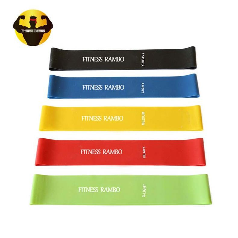 RAMBO China Top Ten Selling Products Elastic Resistance Rubber Latex Band