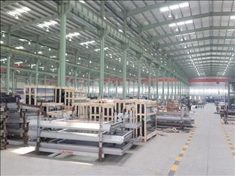 Curtain Wall for Yuanshen Sports Center Shanghai