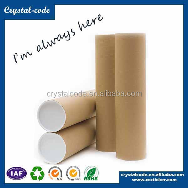 Customized recyclable packaging cylinder cardboard box tube mailing tubes paper packaging
