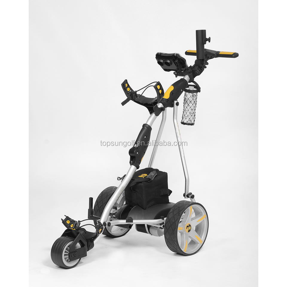 Electric Cruiser Golf Buggies With Power Motor Golf Trolley