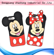 Flat silicone tablet case