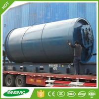 Tire recycling machine type plastic pyrolysis plant manufacturers from china