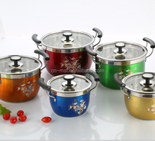 Wholesale stainless steel steamer pot with lids