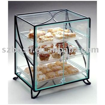 Acrylic Bakery Case,Perspex Cake Display Box,Lucite Pastry Display Case