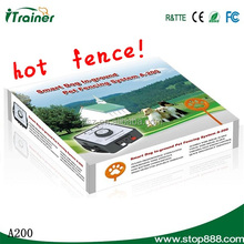 A200 invisible dogs fence Smart Dog Pet Fencing System with shock