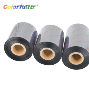 Best quality and low price barcode wax thermal transfer ribbons with high quality