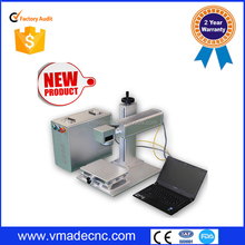 vmade low price animal tag making/Cheap fiber laser marking machine /Best price---Gold quality marking machine for metal parts