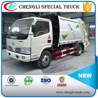 Dongfeng 4*2 95p 4000l Mini Compression Waste Collection Vehicle