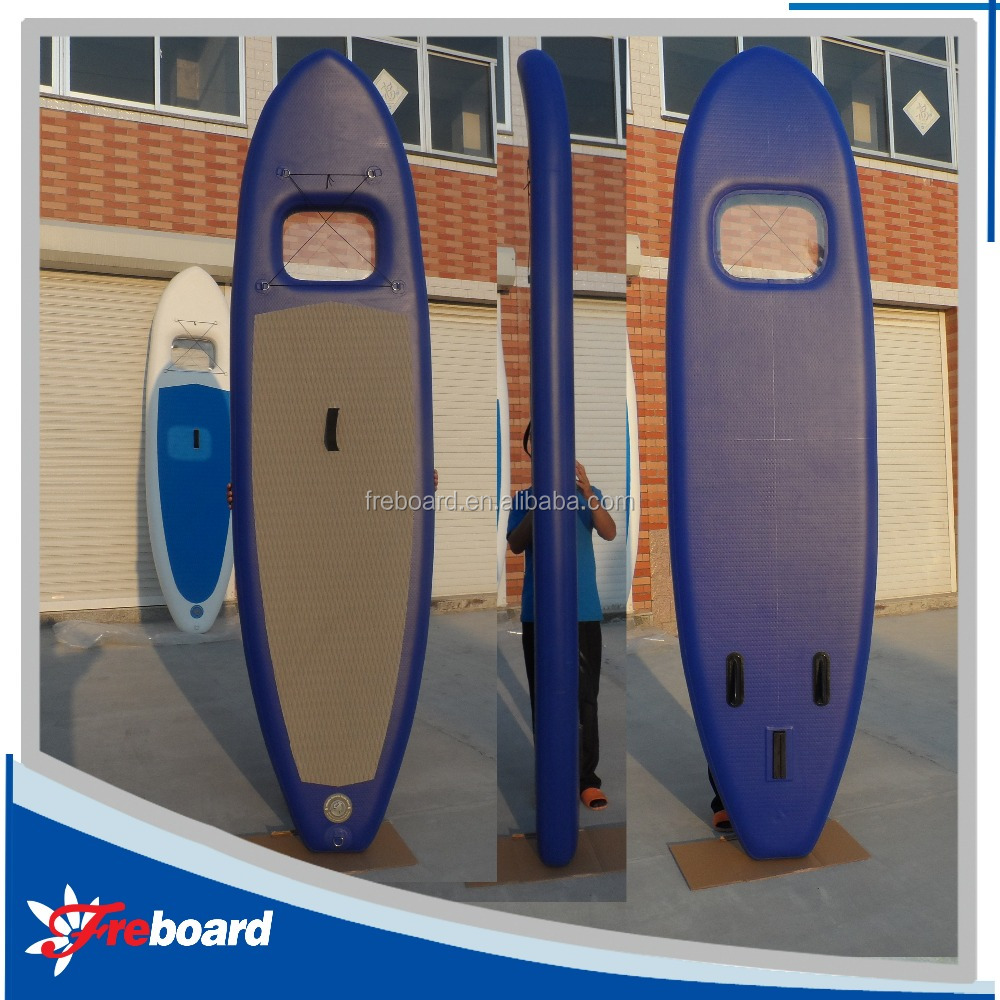 Hot sale sup board/sup stand up paddle board/paddle board with clear window
