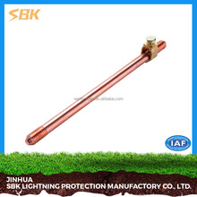 SBK High Quality Copper Clad Earth Rod Low Price For Grounding